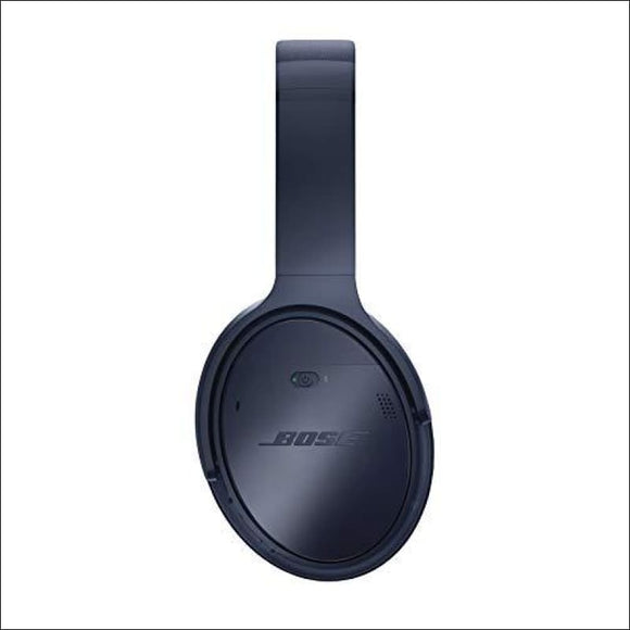 Bose QuietComfort 35 (Series II) Wireless Headphones, Noise Cancelling, with Alexa voice control – Triple Midnight - AmazinTrends.com