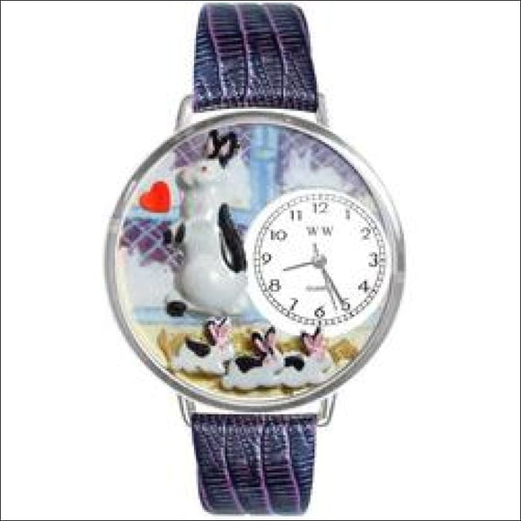 Bunny Rabbit Watch in Silver (Large) - AmazinTrends.com