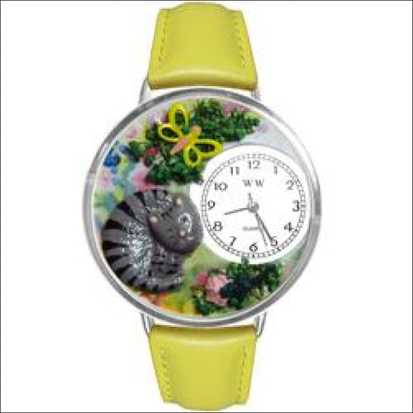 Cat Nap Watch in Silver (Large) - AmazinTrends.com
