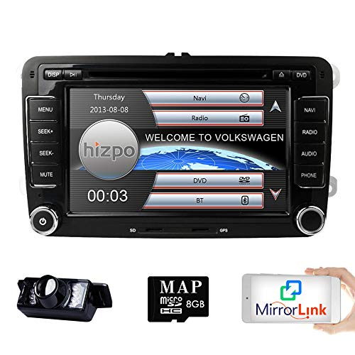 HD 7 Inch Double Din Car Stereo, GPS, DVD, Navi - AmazinTrends.com
