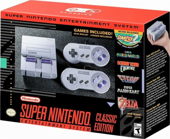 SNES Classic Mini Edition - Super Nintendo Entertainment System - Brand New! - AmazinTrends.com