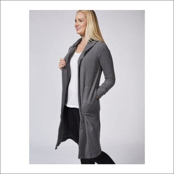 Cuddl Dudds Fleecewear Long Hooded Wrap With Pockets - AmazinTrends.com