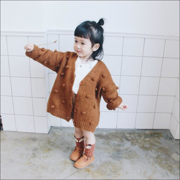 Cute Sweater Baby Girl's Coat - AmazinTrends.com