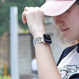 OriBear Compatible for Apple Watch Band 44mm 42mm 40mm 38mm, Breathable Sporty for iWatch Bands Series 4/3/2/1, Watch Nike+, Various Styles and Colors for Woman and Man - AmazinTrends.com