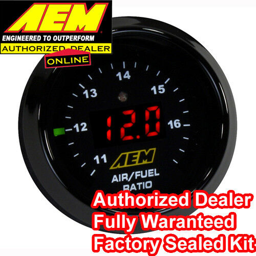 AEM 30-4110 WIDEBAND O2 UEGO CONTROLLER AIR FUEL RATIO GAUGE KIT BOSCH 4.9 LSU - AmazinTrends.com