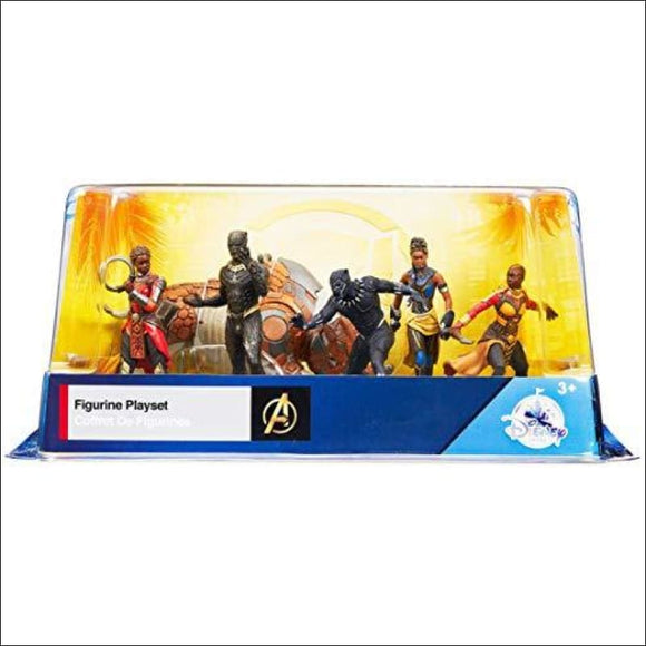 Disney Marvel Comics Black Panther 6 Piece Figure Play Set - AmazinTrends.com