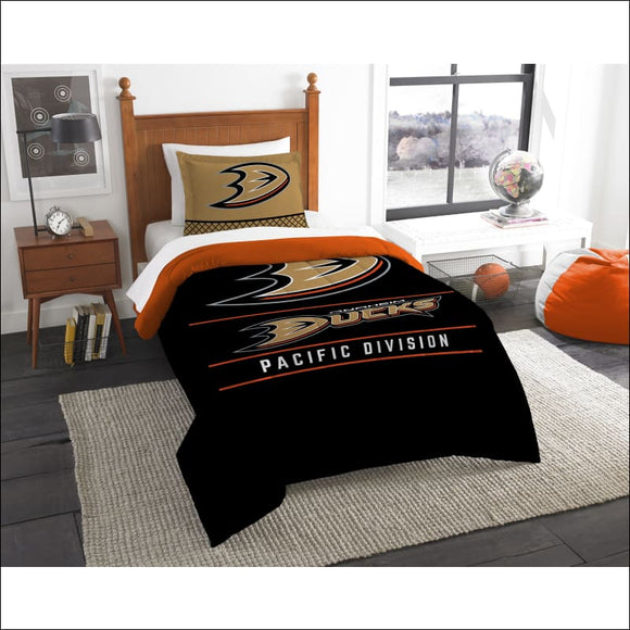 Ducks OFFICIAL National Hockey League, Bedding,