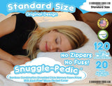 Snuggle-Pedic Original Ultra-Luxury Bamboo Shredded Memory Foam Pillow,  Made in The USA - AmazinTrends.com