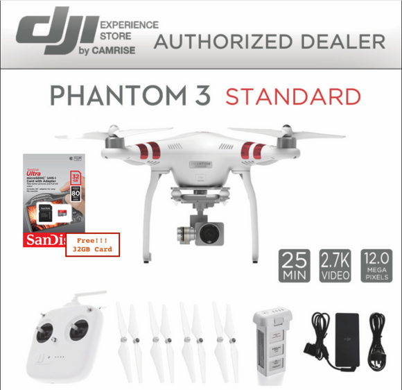 DJI Phantom 3 Standard Quadcopter - AmazinTrends.com