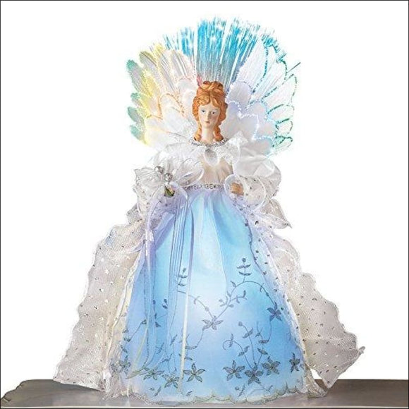 Fiber Optic Christmas Tabletop Figurine, Decoration - AmazinTrends.com