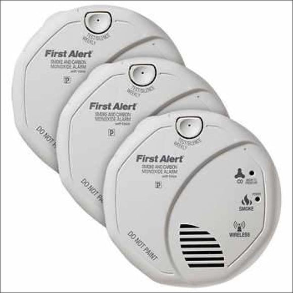 First Alert Smoke and Carbon Monoxide Alarm 3-pack - AmazinTrends.com