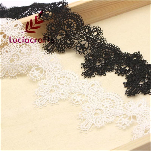 Flower Embroidery Lace for Wedding 1 Yard - AmazinTrends.com