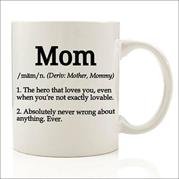 Funny Definition Mom Coffee Mug 11 oz - AmazinTrends.com