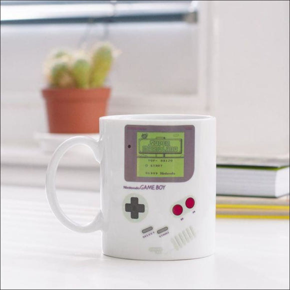 Game Boy Heat Change Coffee Mug ☕️ - AmazinTrends.com