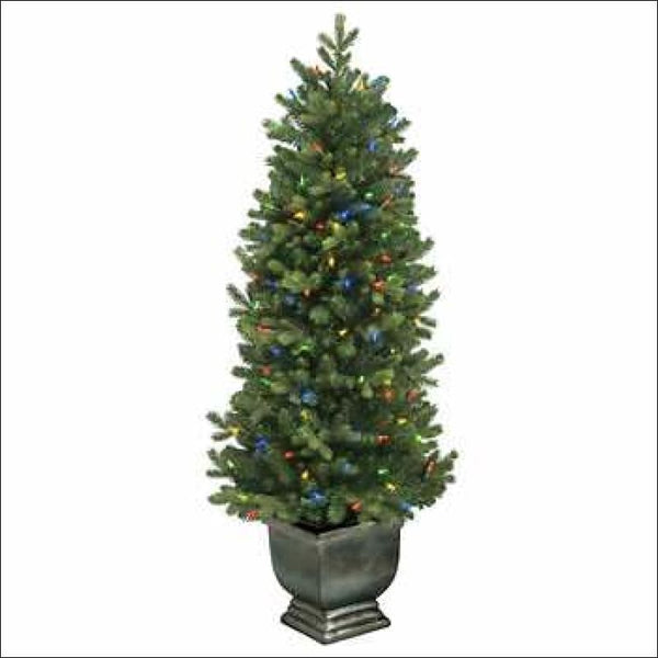 GE 4.5' LED Dual Color Artificial Tree 🎄 - AmazinTrends.com