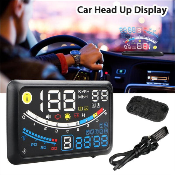 GPS HUD Head Up Display For Universal Cars - AmazinTrends.com