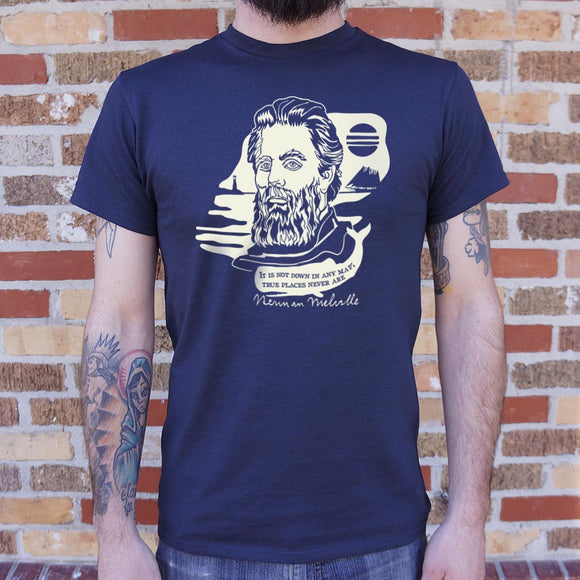 Herman Melville Quote T-Shirt (Mens) - AmazinTrends.com