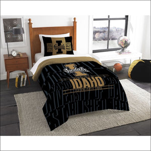 "Idaho OFFICIAL Collegiate, Bedding, """"Modern Take"""" Twin Printed Comforter (64""""x 86"""") & 1 Sham (24""""x 30"""") Set  by The Northwest Company - AmazinTrends.com"