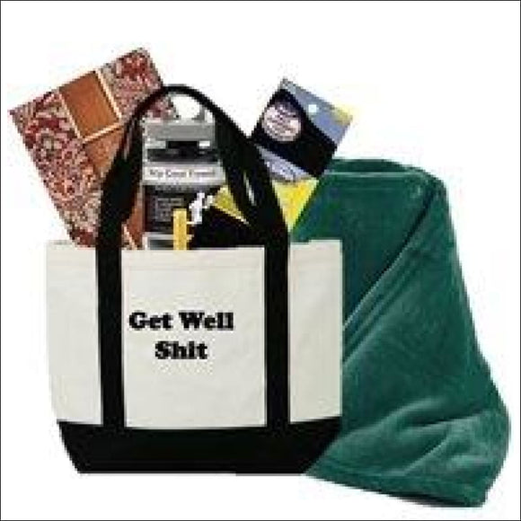 Just Don't Send Flowers Funny Get Well Gift Basket for Men - AmazinTrends.com