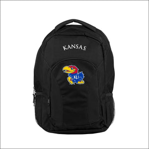 "Kansas OFFICIAL Collegiate, """"Draft Day"""" 18""""H x 10"""" (12"""" Back) Backpack  by The Northwest Company - AmazinTrends.com"