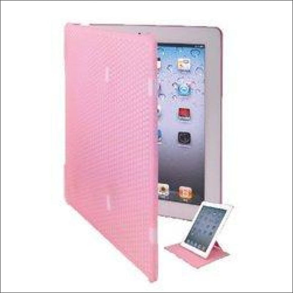 Keydex Slim-Fit Genius Cover Case for iPad with Rotating Stand - Pink - AmazinTrends.com
