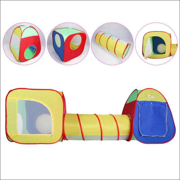 Kids Baby Play Tent Tunnel House - AmazinTrends.com