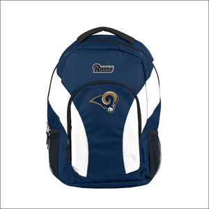 "LA Rams OFFICIAL National Football League, """"Draft Day"""" 18""""H x 10"""" (12"""" Back) Backpack  by The Northwest Company - AmazinTrends.com"