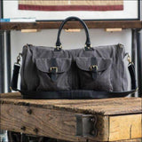 Leather Garment Weekender by hook + ALBERT - AmazinTrends.com