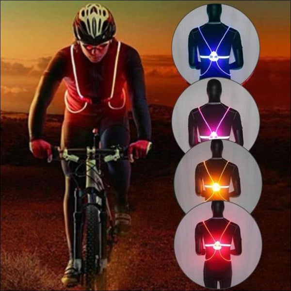 LED Reflective Vest - AmazinTrends.com