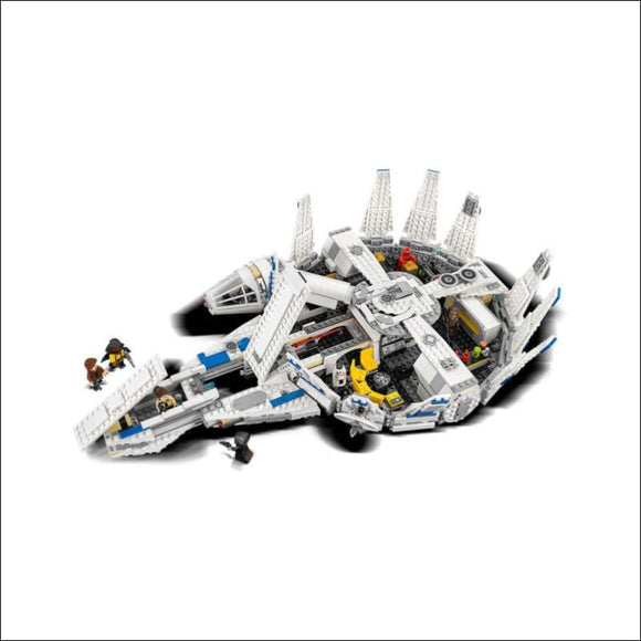 LEGO Star Wars Solo Kessel Run Millennium Falcon 1414 Piece Kit with Figures - AmazinTrends.com