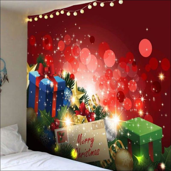 Light-spot and Gifts Printed Wall Hanging Tapestry - Red W59 Inch * L59 Inch - AmazinTrends.com