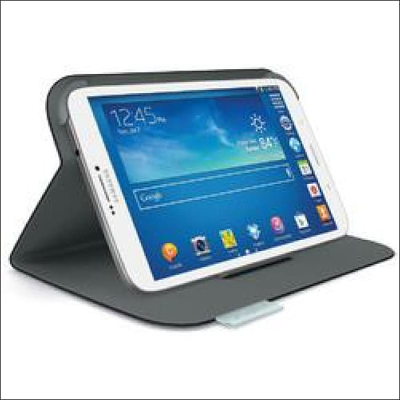 Logitech Folio for 8 Samsung Galaxy Tab 3, Carbon Black - AmazinTrends.com