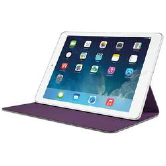 Logitech Hinge Flexible Case with Any-Angle Stand for iPad Air - Gray - AmazinTrends.com