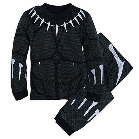 Marvel Black Panther Costume PJ Pals Set for Boys - AmazinTrends.com