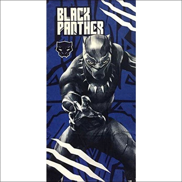 Marvel Black Panther Kids Bath/Pool/Beach Towel - Super Soft & Absorbent Fade Resistant Cotton Towel, Measures 28 inch x 58 inch (Official Product) - AmazinTrends.com