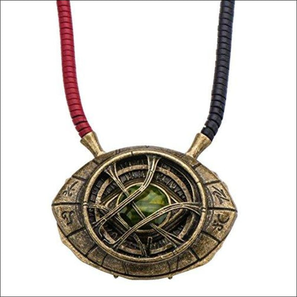 Marvel Doctor Strange Eye of Agamotto 1:1 Scale Licensed Prop Replica Necklace - AmazinTrends.com