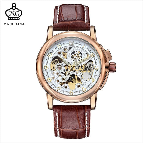 MG. ORKINA Men's Mechanical Wristwatch - AmazinTrends.com