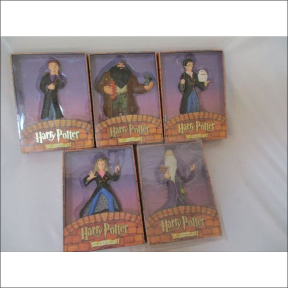 NIB Vtg 5 Kurt Adler Harry Potter Xmas Ornaments 4