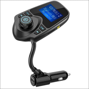 Nulaxy Wireless in-Car Bluetooth FM Transmitter Radio Adapter, Car Kit - AmazinTrends.com