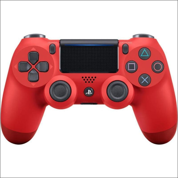 Official DualShock PS4 Wireless Controller for PlayStation 4 - Magma Red NEWEST - AmazinTrends.com