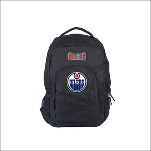 "Oilers OFFICIAL National Hockey League, """"Draft Day"""" 18""""H x 10"""" (12"""" Back) Backpack  by The Northwest Company - AmazinTrends.com"