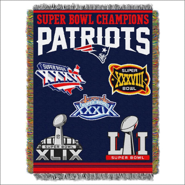 Patriots Super bowl OFFICIAL National Football League Tapestry - AmazinTrends.com