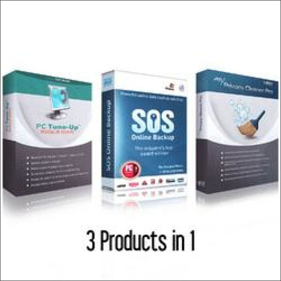 PC Tune-Up, Privacy Cleaner with SOS Backup - Security Essentials Suite - AmazinTrends.com