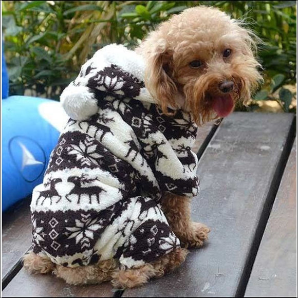 Pet Dog Cat Puppy Warm, Sweater, Hoodie, Jumpsuit - AmazinTrends.com