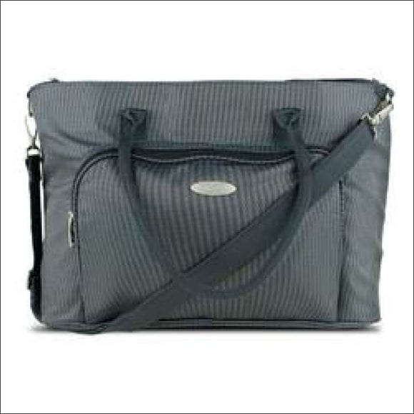 Professional Ladies Laptop Tote for 15.6 Laptops, Gray - gift-bzaar