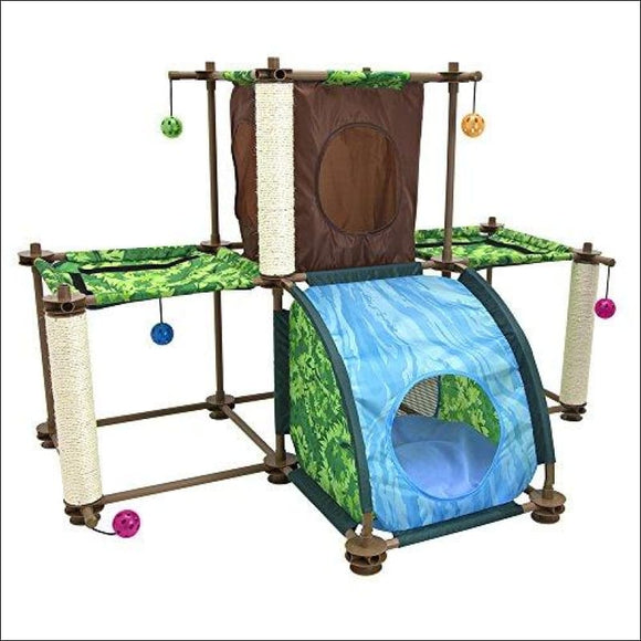 Rainforest Tropical Getaway Cat Furniture - AmazinTrends.com