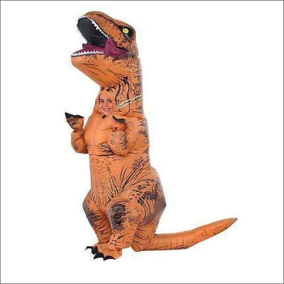 Rubie's Costume Child's Jurassic World T-Rex Inflatable Costume, Brown, OS - AmazinTrends.com