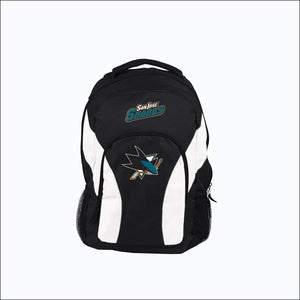 "Sharks OFFICIAL National Hockey League, """"Draft Day"""" 18""""H x 10"""" (12"""" Back) Backpack  by The Northwest Company - AmazinTrends.com"