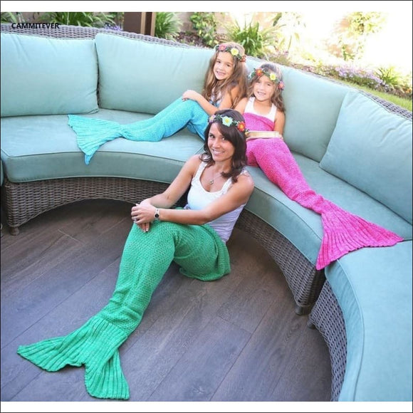 Soft Mermaid Blanket - AmazinTrends.com