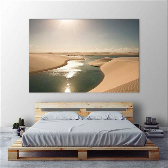 Soft Sunset Giant Canvas Print 🏞 - AmazinTrends.com